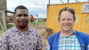 Two DSS water experts in Mozambique
