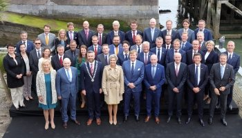 The Dutch delegation of the trade mission to Ireland