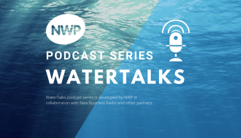 Banner of WaterTalks, a podcast of NWP.