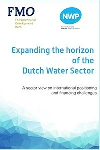 Cover Expanding the horizon of the Dutch Water Sector