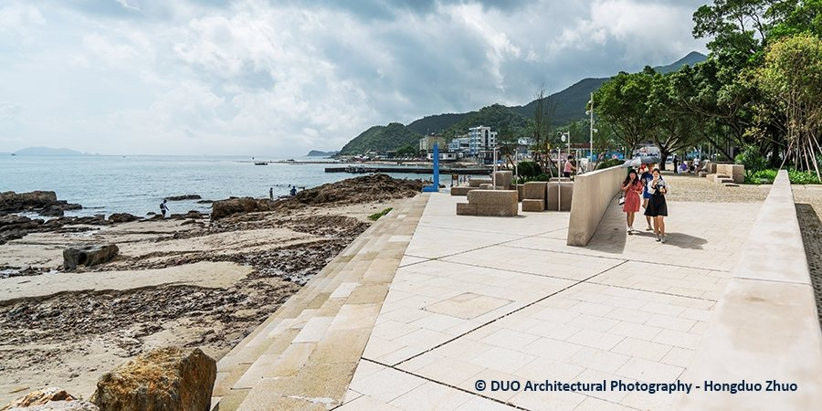 Photo of East Dike coastal defence project near Shenzhen © DUO Architectural Photography - Hongduo Zhuo