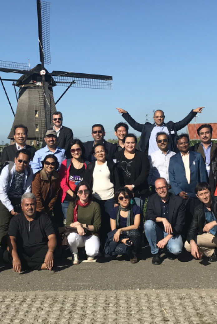 The ADB study tour in the Netherlands