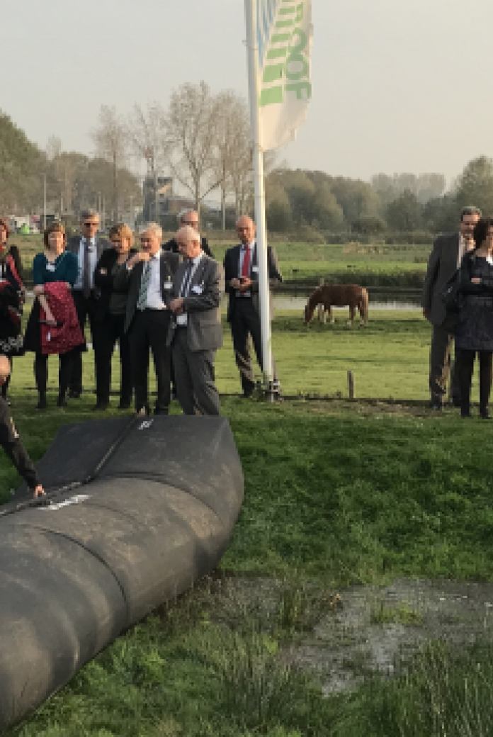 German delegation visiting the Netherlands