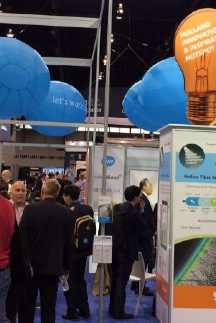 Holland Pavilion at the Weftec Chicago in 2017
