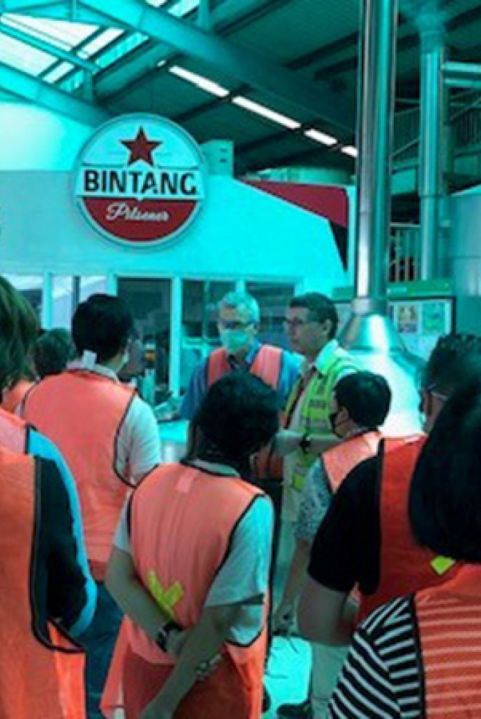 Photo of the trade mission to Indonesia - visit to Multi Bintang Indonesia (Heineken group)