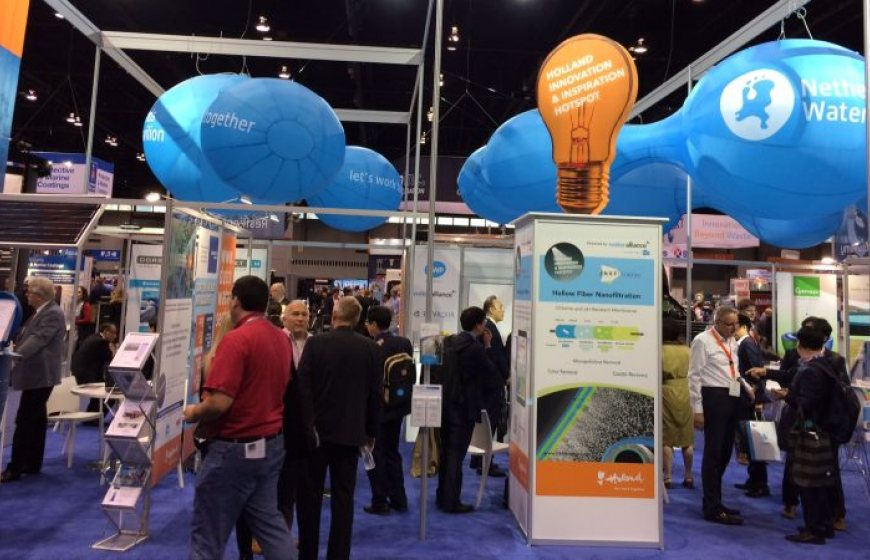 The Netherlands Pavilion at the WEFTEC trade exhibition in Chicago