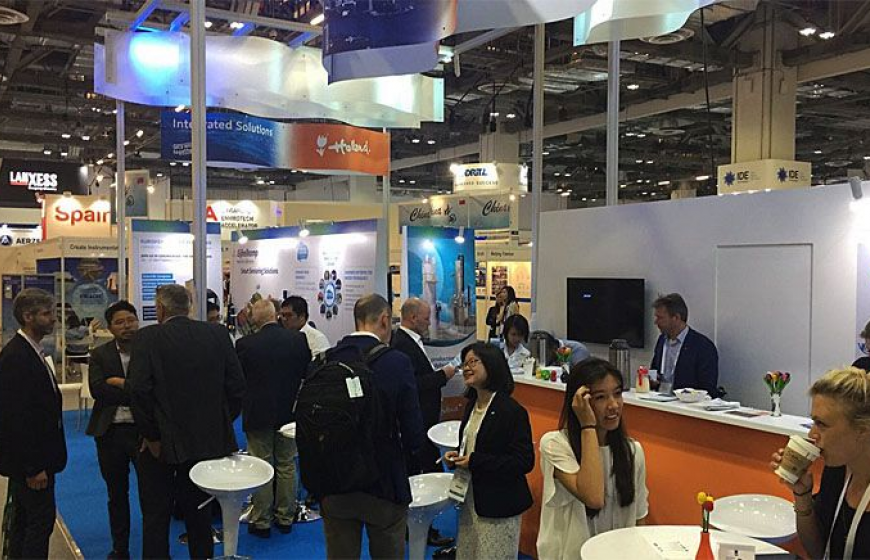 Netherlands Pavilion at SIWW 2018