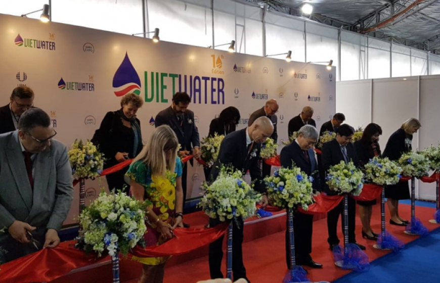 Opening Ceremony of the Vietwater exhibition