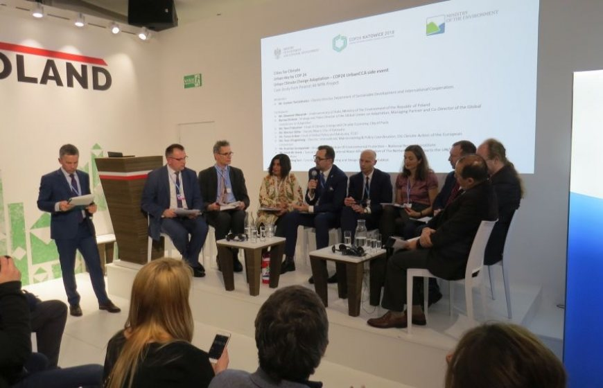 COP24: Urban Day session on climate adaptive cities