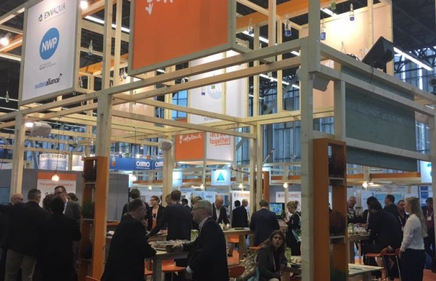 The Holland Pavilion at the Aquatech Amsterdam in 2017