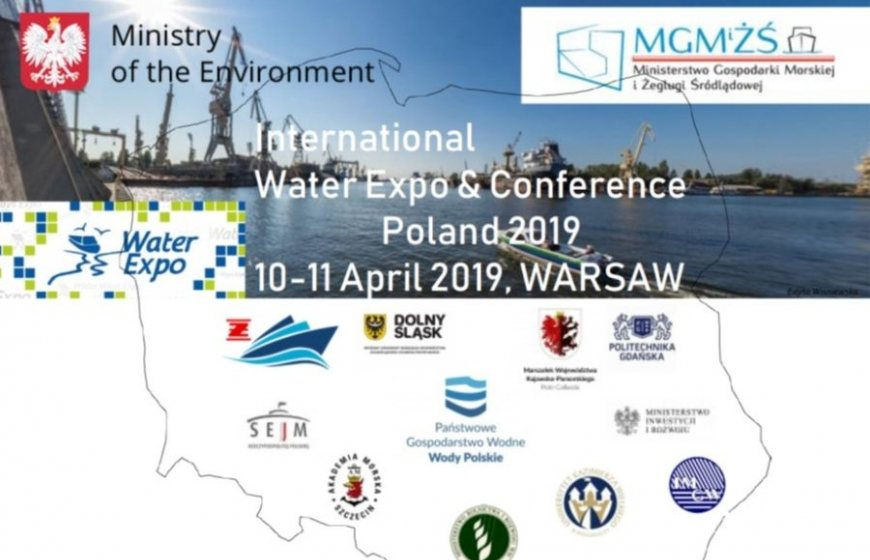 The Water Expo Poland takes place on 10 and 11 April 2019