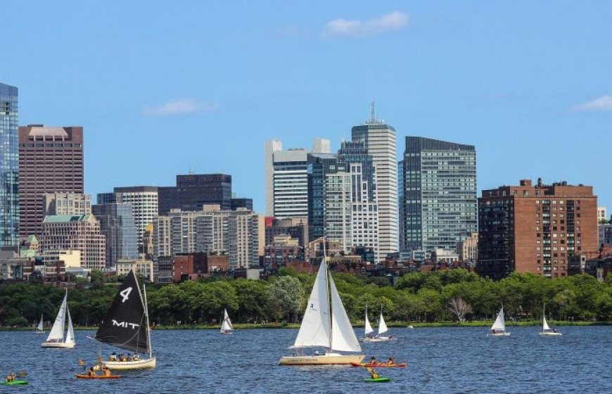 The City of Boston, USA