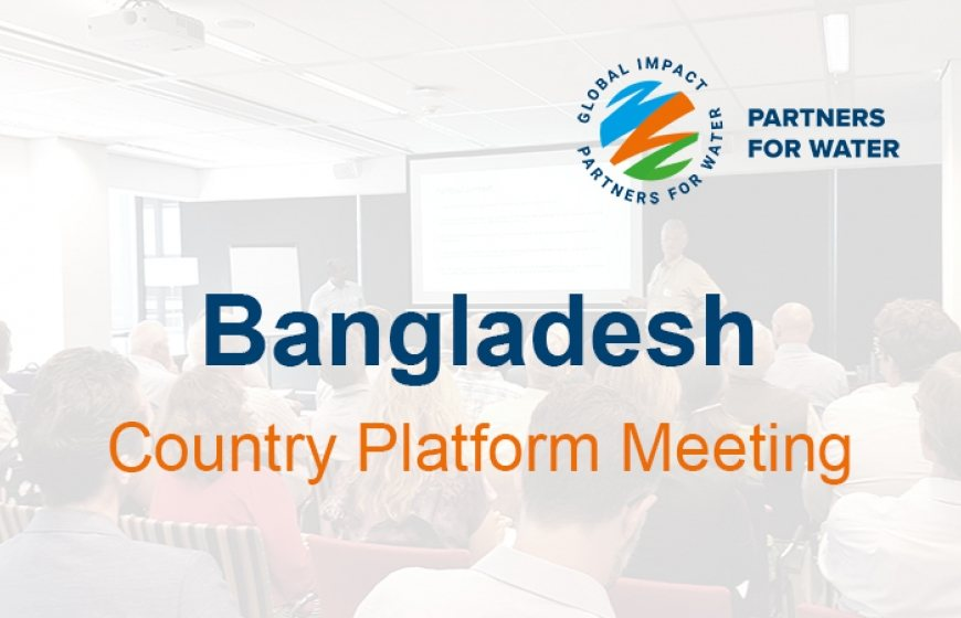Bangladesh Country platform Meeting - logo rechts