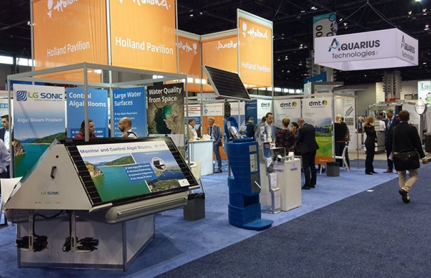 Photo of Dutch Pavilion at WEFTEC