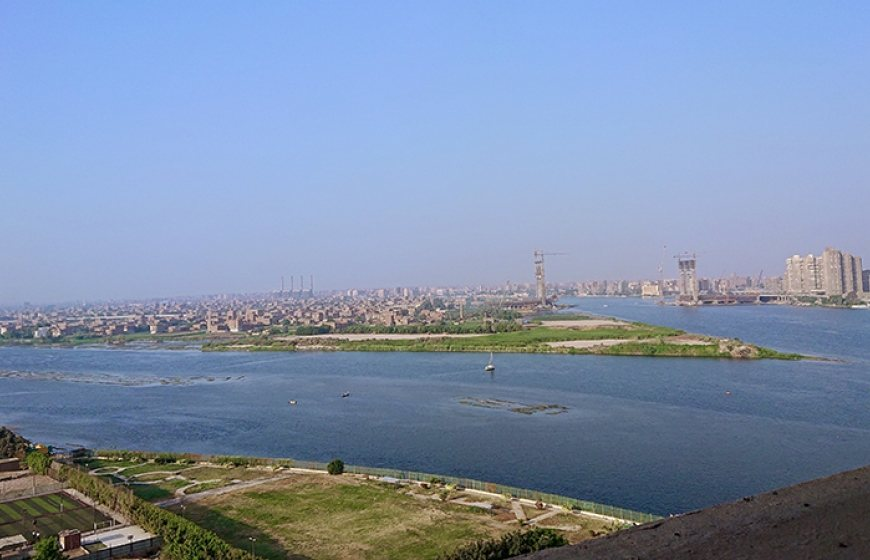 Photo of the river Nile, Cairo