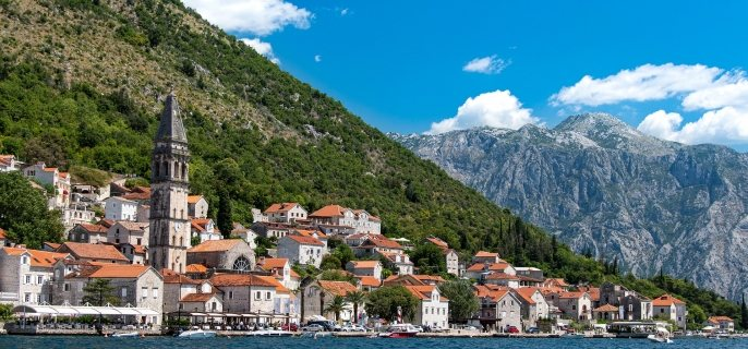 Balkan country Montenegro